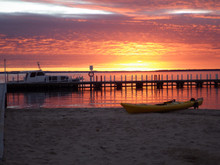 Magnificent Gippsland Lakes sunrise