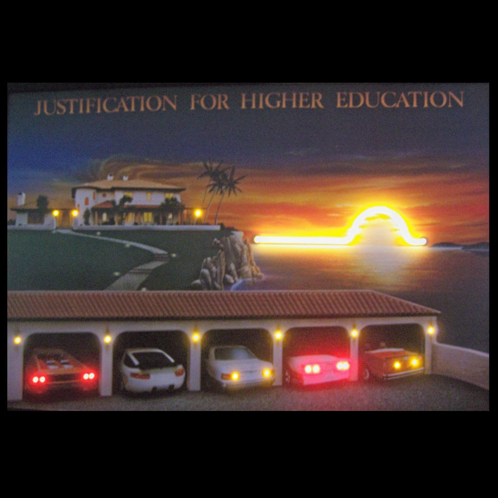 JUSTIFICATION FOR HIGHER EDUCATION NEON/LED PICTURE ...