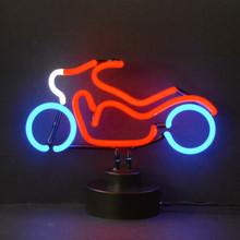 MOTORCYCLE NEON SCULPTURE