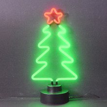 CHRISTMAS TREE NEON SCULPTURE