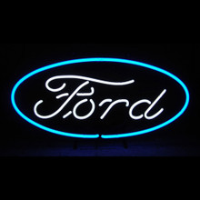 FORD OVAL NEON SIGN