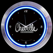 CHEVELLE NEON CLOCK