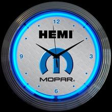 MOPAR HEMI NEON CLOCK