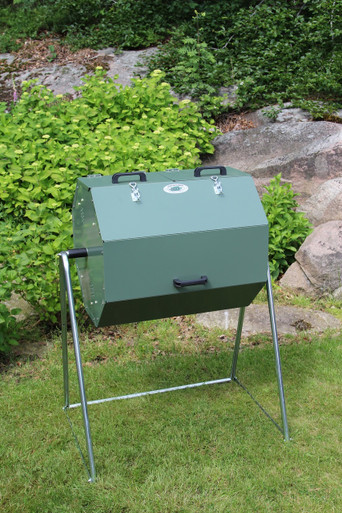Joraf Composter from Ground Grocer A rotating heat compost for convenient and simple use all the year round