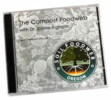Compost Foodweb audio double CD by Dr. Elaine Ingham