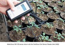 WaterScout SM 100 shown with the FieldScout Soil Sensor Reader