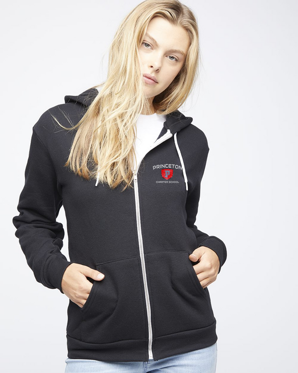 PCS American Apparel flex fleece full zip
