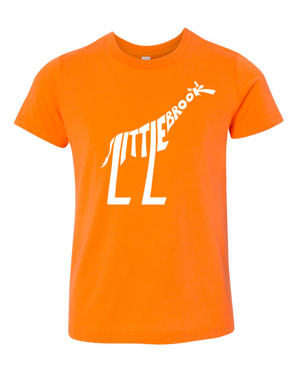 LB fine jersey tee - orange