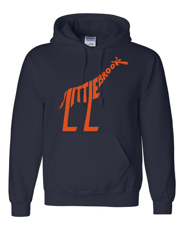 LB Pullover hood - Navy