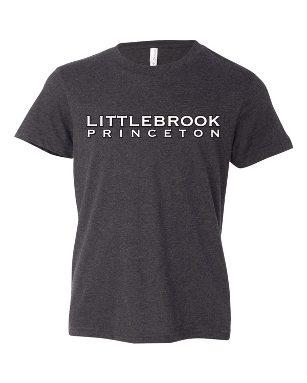 Littlebrook stacked print tee