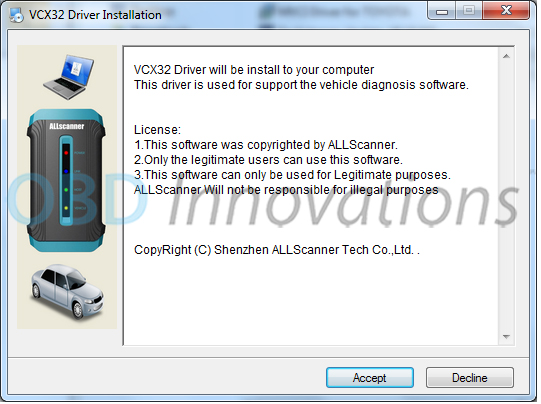 vcx32 driver download