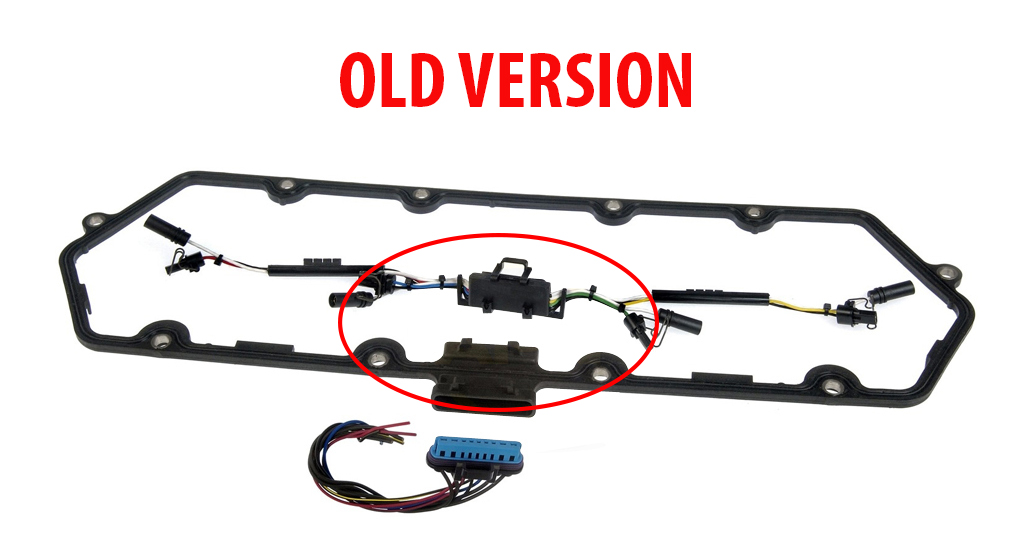 Valve Cover Gasket W   Fuel Injector And Glow Plug Harness