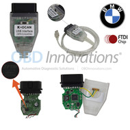 BMW K + D-CAN OBD2 USB INPA Cable ( FTDI FT232RQ Chipset ) + Jumper Switch (Cable Only)