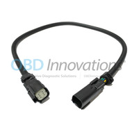 """Front Oxygen O2 Sensor Extension Cable for 2015 - 2017 Ford Mustang GT 5.0L 24"""""""