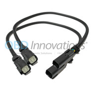 2X Front Oxygen O2 Sensor Extension Cable for 2015 - 2017 Ford Mustang GT 5.0L 24""