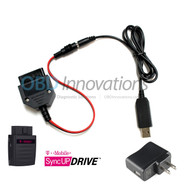 AC USB OBD2 Power Adapter for T-Mobile SyncUP DRIVE WiFi Hotspot