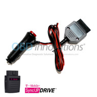 Car Cigarette 12V OBD2 Power Adapter for T-Mobile SyncUP DRIVE WiFi Hotspot