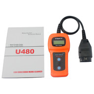 MemoScan U480 CAN BUS OBD2 Diagnostic Scan Tool