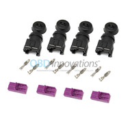 EV1 Fuel Injector Female Connector Harness Kit - 4X Pack