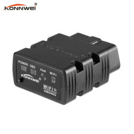 Konnwei KW902 WiFi OBD2 Auto Diagnostic Scanner for iOS & Android - Black