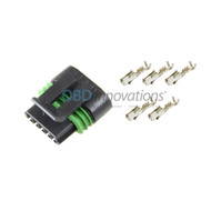 5 Wire MAF Sensor Female Connector Harness Kit for GM LS2 6.0L