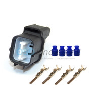 O2 Oxygen Sensor Male Connector Harness Kit for 4 Wire Honda Civic Integra Accord CRX