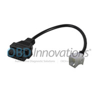 6 Pin to 16 Pin OBD2 Interface Adapter Cable for Aprilia Motorcycles