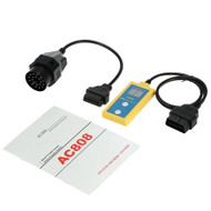 AC808 Airbag SRS Reset Tool Diagnostic Scanner for 1994 - 2003 BMW + 20 Pin Cable