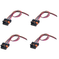4X Pack GM LS1 LS6 Ignition Coil Pack Connector Harness Pigtail