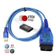 VAG KKL K-LINE OBD2 USB Interface Cable with FTDI FT232RL Chip