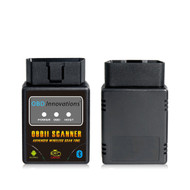 OBD Innovations® Bluetooth OBD2 Scanner Scan Tool - Compatible with all OBDII Protocols - Black
