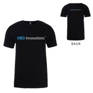 OBD Innovations® Men's Logo Crew Neck T-Shirt - Black