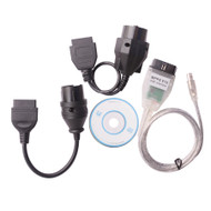 SMPS MPPS V13.02 ECU Chip Remap Tuning Cable + 20 Pin BMW & 38 Pin Benz Cable