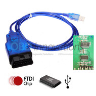 VAG KKL OBD2 USB Interface Cable with FTDI FT232RL Chip