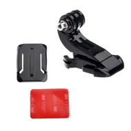 J-Hook Buckle + CURVED Base Mount + 3M Adhesive Pad for GoPro Hero 1 2 3 3+ 4 5