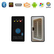 Super Mini ELM327 Bluetooth OBD2 Car Diagnostic Scanner + Power Switch V2.1