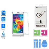 Tempered Glass Premium Glass Film Screen Protector Samsung Galaxy S5 - Retail Packaging