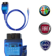 VAG KKL USB Interface with 4 Position Switch FTDI FT232RL Chip for Fiat Alfa Romeo Lancia
