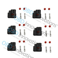 6X Pack Ignition Coil Pack Connector Kit for Toyota Supra 1JZ 2JZ SuperSpark SSCP-1JZ