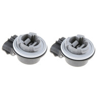 2X Pack Turn Signal Front Parking Light Bulb Socket 3157 for 1997 - 2004 Ford F150 Expedition
