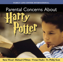 "Parental Concerns About Harry Potter by Steve Wood, Fr. Philip Scott, Michael O'Brien, and Vivian Dudro  [Note: Parents are advised that many of the warnings about Harry Potter are also relevant for Philip Pullman's trilogy entitled, His Dark Materials: The Golden Compass, The Subtle Knife, and The Amber Spyglass.]  The Book of Wisdom teaches: ""For the fascination of wickedness obscures what is good, and roving desires pervert the innocent mind""(4.12). This informative CD will help parents evaluate the Harry Potter series in light of Scripture and Church teaching. A few questions answered on this CD are:   How can ""reverse symbolism"" in the Harry Potter novels corrupt your child's moral development? Is Harry Potter the same as C.S. Lewis' Narnia?  Does Harry Potter teach kids that witches and wizards are cool?  Will Harry Potter teach children that there is such a thing as good witchcraft?  Can Harry Potter unsuspectingly lead kids into the occult?"