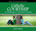 Catholic Courtship - A Challenge to Teens & Twenties  by Steve Wood and Guests  This 2 CD album features live radio discussions about Catholic courtship - a modern movement that is taking the failed 20th-century concept of recreational dating by storm. Catholic courtship is revolutionizing the way Catholic young adults discern a marriage partner - and in this CD series, you'll discover why.  Disc One: Steve interviews Amberly Sherman, a spokesperson with the Challenge Task Force on Chastity, about the differences between courtship and dating.  Disc Two: Jason and Janelle Reinhart share their real-life courtship story. Janelle is a best-selling Catholic recording artist from Canada, and the 2002 Word Youth Day theme song singer. The story of how Jason and Janelle fell in love is sure to captivate and inspire every listener.  Other questions answered in this CD album:  What is the difference between dating and courtship?   How can you triple your probability of success in marriage?  What role should parents play in courtship?  What questions should you ask a prospective spouse?