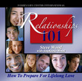 "Relationships 101 A Seminar for Teens & Twenties  by Steve Wood & Stephanie Wood   In this 2-part live seminar, Steve Wood explains how to find and marry a great spouse, highlighting principles from his books The ABCs of Choosing a Good Husband and The ABCs of Choosing a Good Wife.   With humor and wisdom, he shares advice from his own 30-year marriage, and his professional work with marriage and family life. Stephanie Wood encourages her peers with principles for conducting relationships God's way. She shares how to preserve chastity in your relationships, the importance of compatibility, and what to do while you wait for a godly spouse. Stephanie motivates her peers with the message that practicing honorable courtship in the 21st century is not only possible - it's the best way to prepare for marriage in the world today.  What people are saying about Relationships 101: ""We students heard things from you we never heard before. You planted seeds on our campus which will be so important for the future of our families. Thank you!""  - Kristina, Class of 2004, University of Notre Dame."