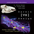 """Darwin vs. Design Random Chance or Intelligent Design? by Steve Wood with Dr. Michael Behe and Dr. Phillip Johnson """"Is the universe governed by chance, blind fate, anonymous necessity, or by a transcendent, intelligent and good Being called 'God'?"""" - Catechism of the Catholic Church, #284  What happens when you team up an expert in biochemistry with a legal scholar specializing in logic and rules of argument? You have an explosion that is shaking the unproven philosophical assumptions of naturalism and Darwinian evolution.  Dr. Michael Behe (author of Darwin's Black Box) and Dr. Phillip Johnson (author of Darwin on Trial) use new and penetrating arguments against evolution, utilizing the latest findings of science and precise logic. These two men are the leaders in an exciting new Intelligent Design movement. If you want the faith of your children to survive high school and university life, start learning about Intelligent Design today!"""