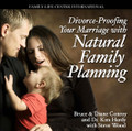 Divorce-Proofing Your Marriage with Natural Family Planning by Steve Wood with Bruce and Diane Conroy & Dr. Kim Hardy   Bruce and Diane Conroy, a teaching couple of Natural Family Planning (NFP), help couples understand how and why NFP is a vital way to strengthen their marriage and family life. They answer common concerns such as: Is NFP safe? Is it effective? What is the Catholic Church's teaching on birth control and NFP? How will NFP affect my relationship with my spouse? Dr. Kim Hardy, an OB-GYN, shares how his perspective on life and contraception was dramatically changed when his young son died in a tragic car accident. He offers a physician's perspective on why NFP is a safe, effective, and valuable method for couples.