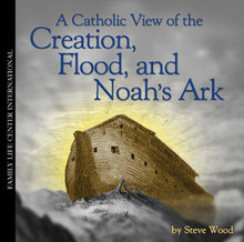 "A Catholic View of  Creation, Flood, and Noah's Ark Live Seminar for Teens & Adults by Steve Wood   Is the Genesis account of creation just a collection of myths, as most young Catholics are taught, or is it an accurate depiction of our origins? Unfortunately, most Catholics have only heard the evolutionist side of the origins debate. They have never been told that popes, church fathers, saints, doctors of the church and ecumenical councils have consistently affirmed special creation and the Flood. In his groundbreaking audio presentation, A Catholic View of the Creation, Flood, and Noah's Ark, Steve Wood presents the historic Christian perspective on the creation of the universe and the events recorded in the early chapters of Genesis. Steve breaks down difficult topics in an easy-to-understand manner in this talk given to a live audience of Catholic teenagers and their parents.  But what about Noah's Ark? About 98% of Catholic youth are being told Noah's Ark and the Flood are nothing more than myths, like the other ""stories"" in the early chapters of Genesis. And yet early church historians, church fathers, saints, and doctors of the church believed Noah's Ark was real. Believe it or not, they affirmed that the Ark survived and that its remains were still plainly visible at least 3,000 years after the Flood.  The CD's accompanying study handout contains a collection of often-ignored citations on the Flood from the Church Fathers. For example, St. Isadore of Seville, who lived in the seventh century A.D., said, ""Ararat is a mountain in Armenia, where the historians testify that the Ark came to rest after the Flood. So even to this day wood remains of it are to be seen there."" In other words, if you doubt that the Ark is real, then go and see it for yourself. This CD was one of the most popular resources ever released by the Family Life Center."