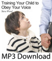 "Training Your Children to Obey Your Voice Steve Wood  This is a CD that every parent of a young child needs listen to. You'll learn strategies to prevent years of headaches.  This message explains why training your child to obey your voice should be the primary focus of all your child discipline and training.   The 60-second secret for getting your child to listen to your voice Why fathers are critically important for teaching obedient listening Why your child's temporal and eternal futures depend on listening What book of the Bible should parents use to teach listening When is the best time to teach obedient listening How to determine when your child can understand ""no"" and ""come"" Why second and third warnings are counter-productive"