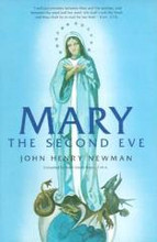 "Mary the Second Eve by Blessed John Henry Cardinal Newman  This small but profound booklet shows that Marian doctrines are rooted in Scripture and the teachings of the Early Church. It is full of the fresh insights and persuasive logic so typical of this holy and learned convert from Anglicanism, who later became a Cardinal. This is the perfect booklet to share with a Protestant friend or family member (or even a Protestant minister!) struggling with Catholic doctrines on Mary, including the Immaculate Conception, Mary's Assumption, and much more. Mary the Second Eve is also perfect for RCIA classes and family or small group discussion. Customer Testimony:   ""All I can say is ""WOW""!  You, your family, and staff are amazing and I love you for embracing Christ with such zeal.  God bless you all. I'll be ordering more books this month, especially Mary, The Second Eve. -- Mary"