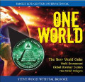 One World: The New World Order of Governments, Economies, and Religions   by Steve Wood with Tal Brooke  In this riveting interview, Tal Brooke, president of the Spiritual Counterfeits Project, explains why America's rapid descent is no accident, its freedoms and national memories systematically erased like some vast hard drive, its once-great virtues torn away. He uncovers the hidden forces behind the present sweeping changes as critical turns in history have been kept from a docile and trusting public naively willing to accept almost any official explanation for the nation's losses--freedoms replaced with oppressive laws; police-state surveillance over a society in fragmented disarray; a national debt higher than the nation's net worth, and a dispossessed public without the will or courage to resist. Why? To bring about a New World Order. The right trigger--such as a worldwide economic meltdown--and a single global currency could emerge, opening the way for world taxation, a world court, and world government.