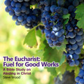 """The Eucharist: Fuel for Good Works: A Bible Study on Abiding in Christ  by Steve Wood    The Gospel of John, chapter 15, contains disarmingly simple teaching. Yet this chapter contains profound and life-changing truths for living the Christian life in a fruitful way. On this CD, you'll learn:   Is the Catholic emphasis on """"good works"""" trying to earn one's salvation? Why John 15 is the key to understanding the energy source for good works The colossal mistake trying to abide in Christ apart from the Eucharist Why """"good works"""" are truly profound works of God's grace What is the true secret to spirit-filled living? How to find staggering answers to prayer as promised to those abiding in Christ How the Eucharist is nuclear power for good works """"Abide in me, and I in you.  As the branch cannot bear fruit by itself, unless it abides in the vine, neither can you, unless you abide in me."""""""